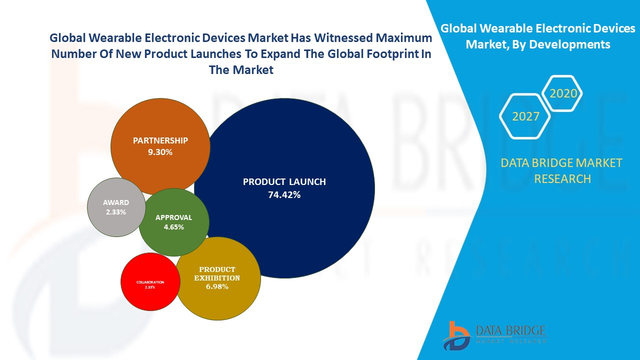 Global Wearable Electronic Devices Market, By Developments
