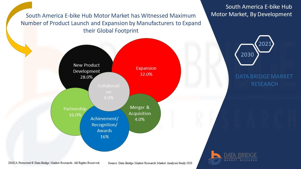 South America E-bike Hub Motor Market